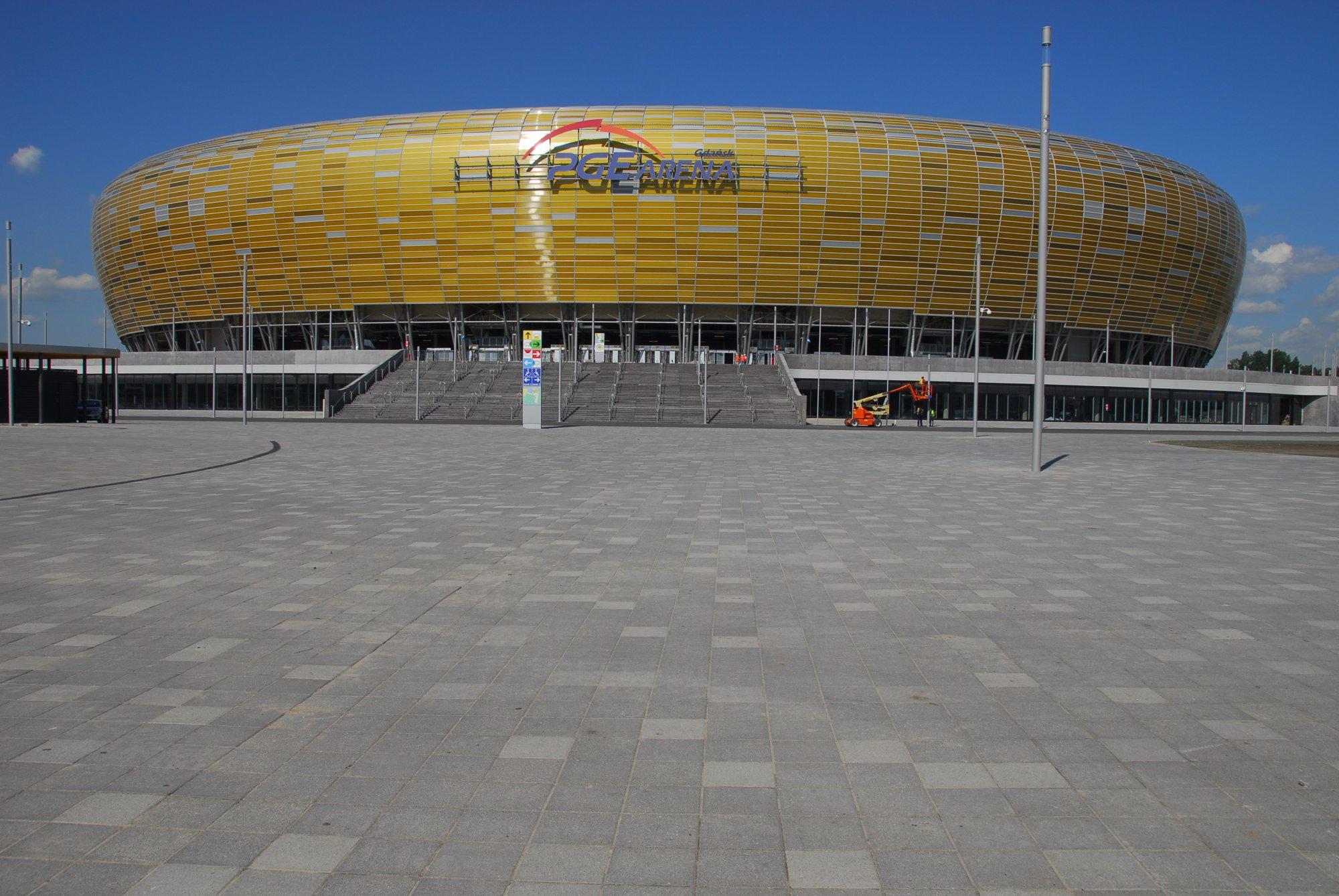 Kostki brukowe przemysłowe K-25 Arena / K-26 Arena - inspiracja 1