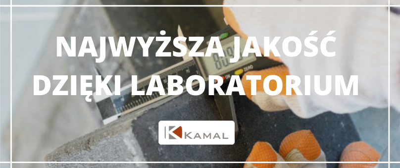 Pomiar jakości produktów Kamal w laboratorium Kamal