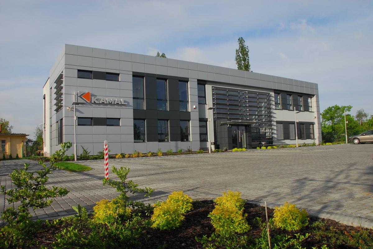 Siedziba firmy KAMAL - Bydgoszcz ul. Kamienna